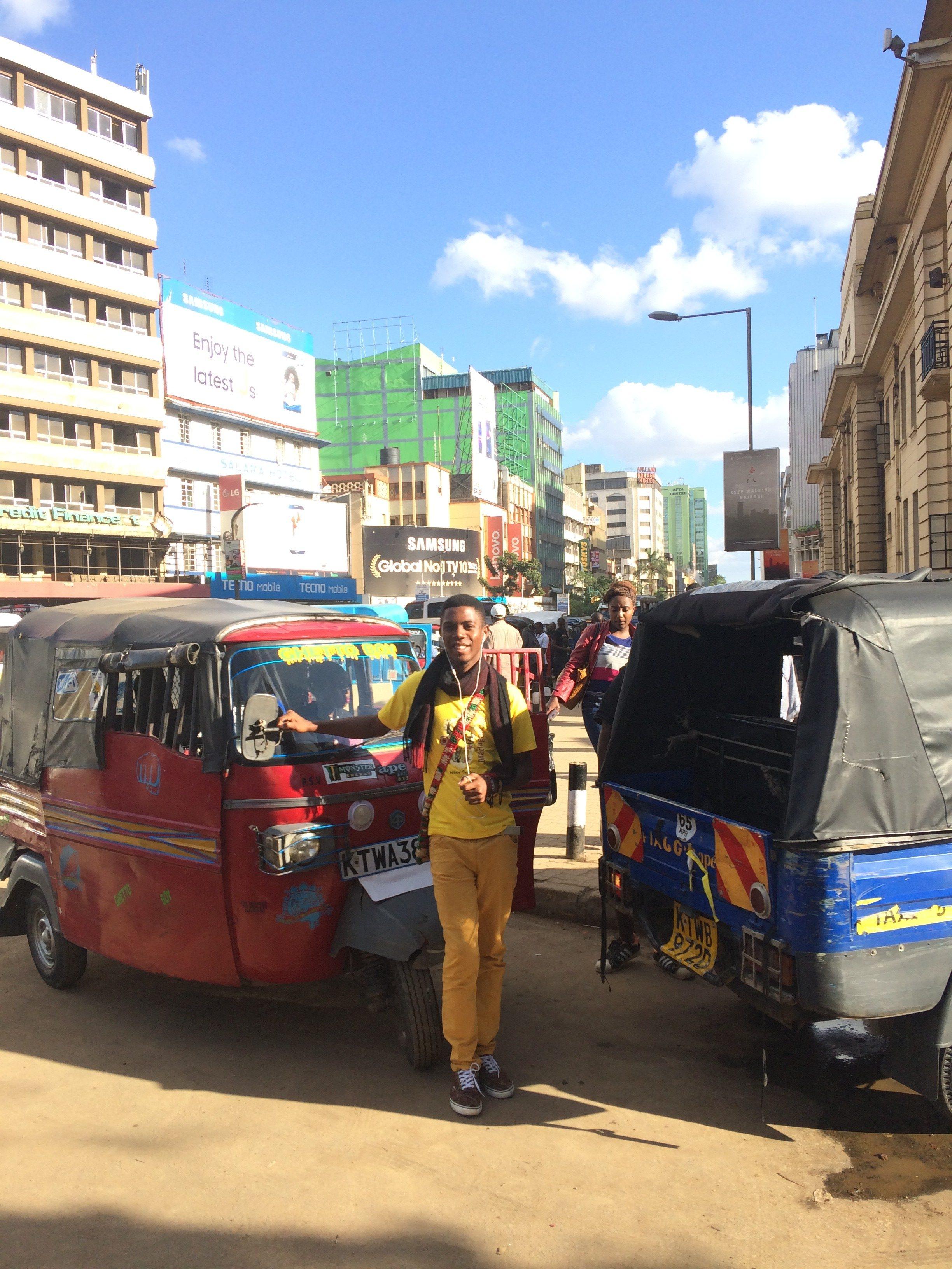 Visite de Nairobi - Kenya