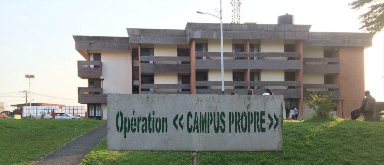 Article : Alerte : Université de Douala, l'insalubrité domine le paysage